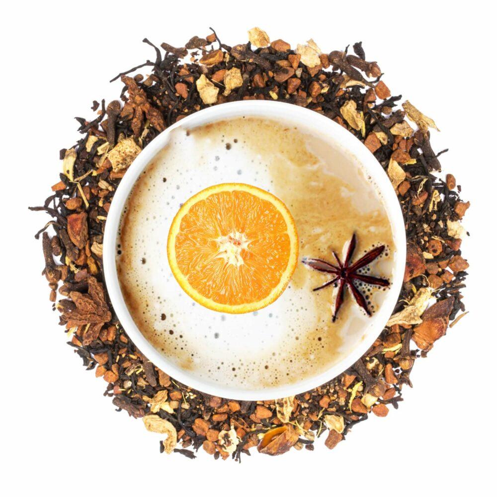 پودر چای ماسالا پرتقالی