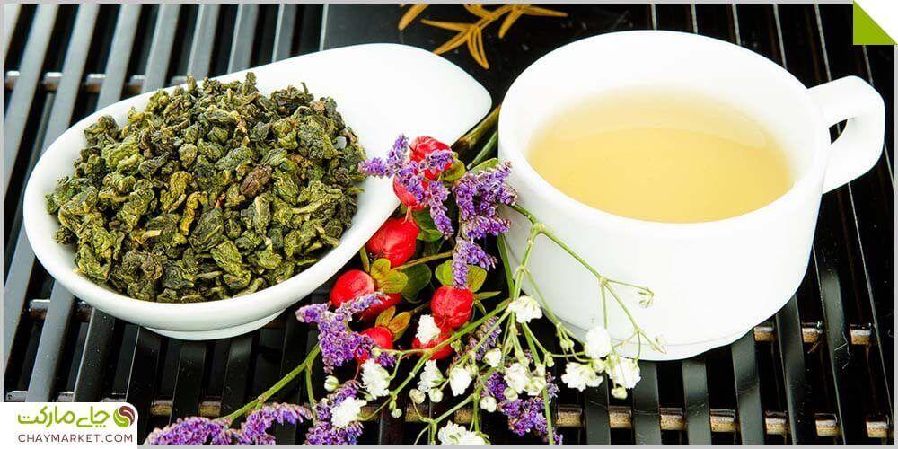 """چای اولانگ خالص ژاپن <div class=""""dscpn"""">تقویت سیستم ایمنی، مناسب رژیم لاغری، کنترل دیابت، مراقبت از پوست و استخوانها، ضد سرطان</div>"""