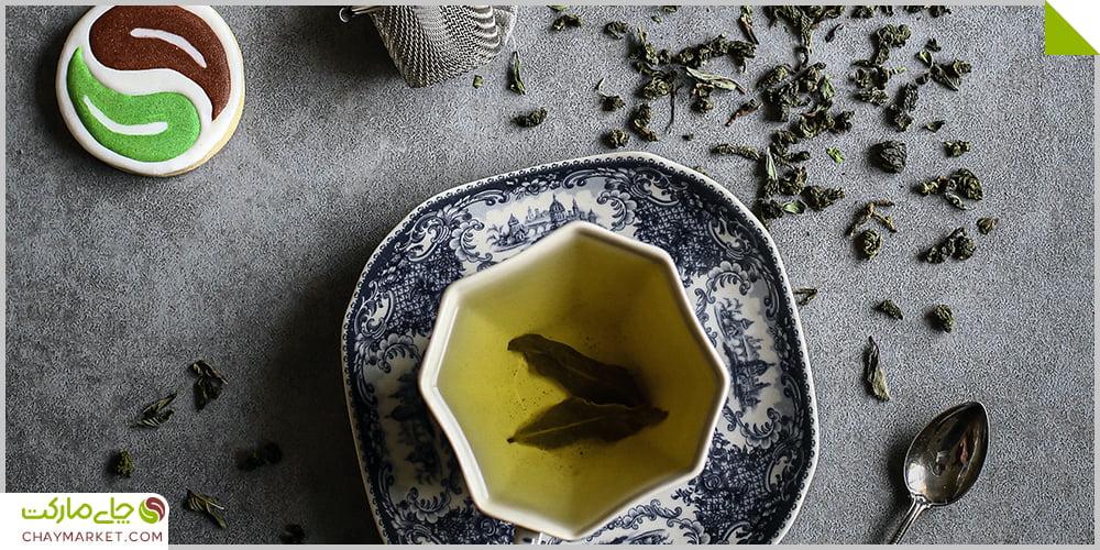 چای اولانگ نعنایی