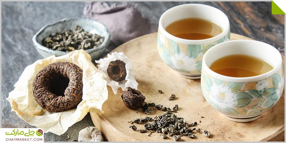 تفاوت چای پوئر Raw با پوئر Ripe چیست؟