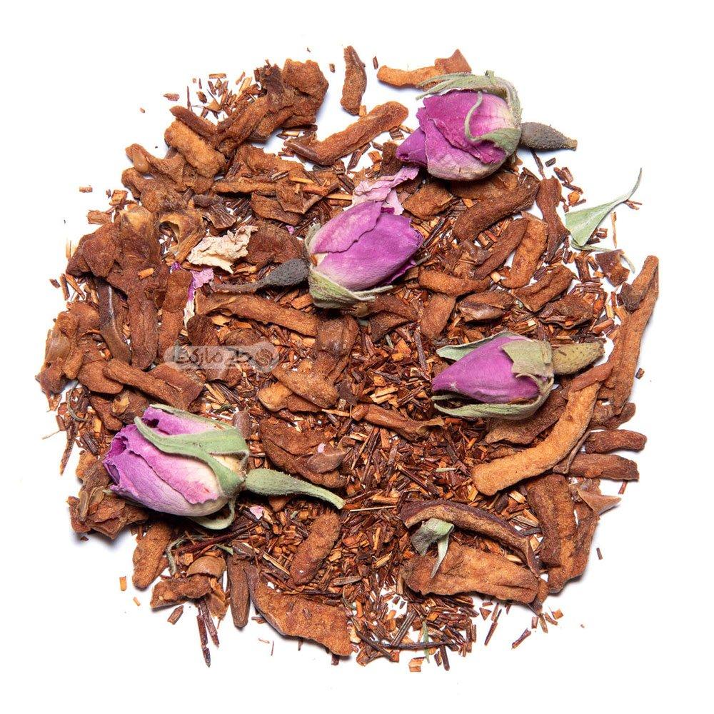 چای رویبوس گل سرخ و سیب